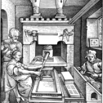 15th century printing press